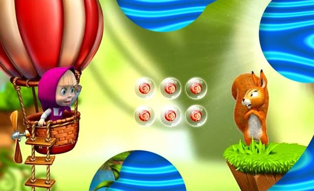 Masha and the bear apps best apps games for kids and for Free balloon games