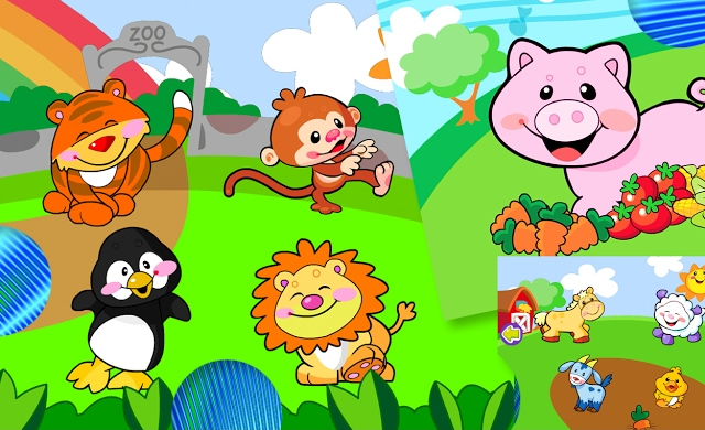 Teach Wild Animals to Preschoolers & Toddlers – Animal Sounds for