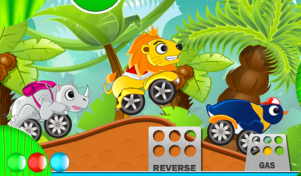 Ipad Games For Toddlers >> Free Animal Racing Game For Kids Animal Cars For Android