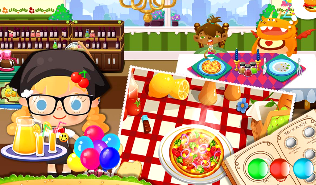 Free Restaurant Management & Cooking Game for Kids - Android